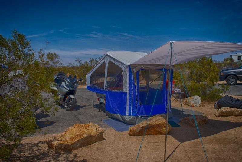 Aspen Sentry setup, Joshua Tree, CA