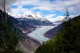 Salmon Glacier BC just outside from Hyder Alaska
