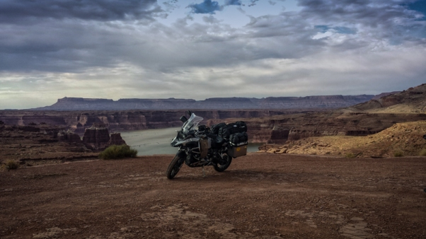 Arizona, BMW, Don, Lake Powell, R1200GSA