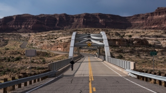 Arizona, Colorado River Bridge, Glen Canyon Reserve