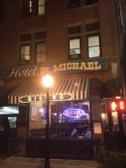 Whisky row Hotel St. Michael
